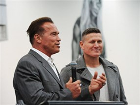 Talent representation for Arnold Schwarzenegger and Danny Green