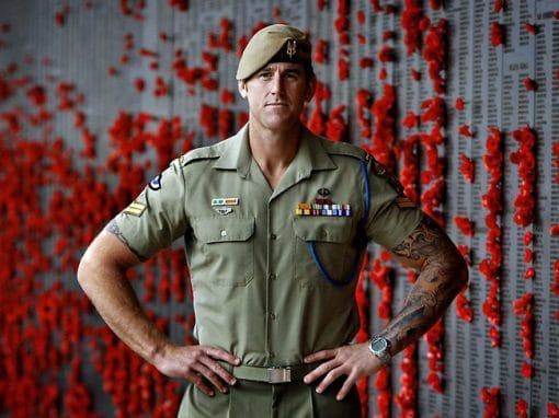 War hero humbled