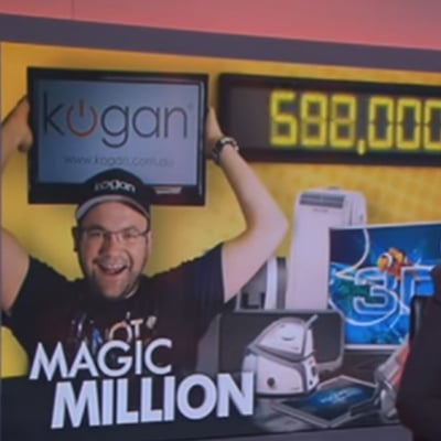 Kogan.com delivers its 1,000,000th product - Featured on A Current Affair ACA (23/10/2012)