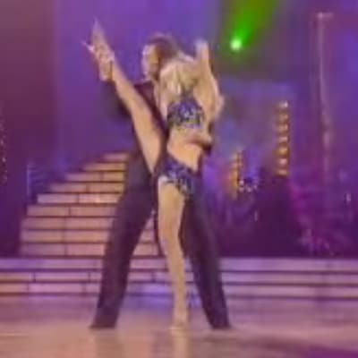 Kym Johnson and Tom Williams on Dancing with the stars AUS