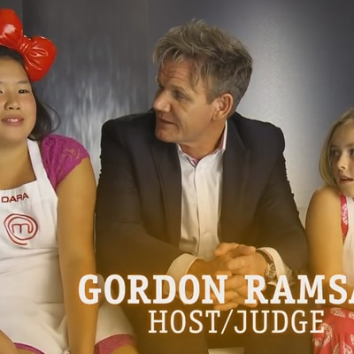 Small Bites of Advice for Gordon Ramsay | Season 1 | MASTERCHEF JUNIOR