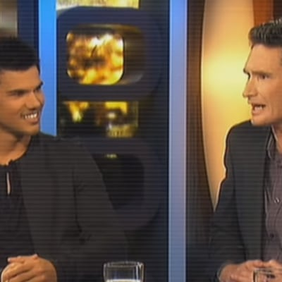 Taylor Lautner interview with Dave Hughes - The 7pm Project - Abduction 2011
