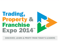 Trading property and franchise expo 2014 logo