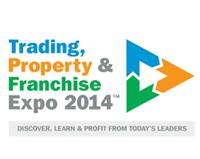 Trading property and franchise expo 2014 logo