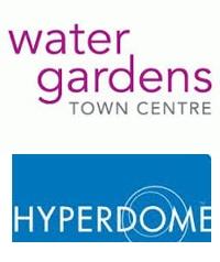 Water Gardens Town Centre logo